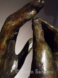 Rodin's Hands #1 by Denn Santoro